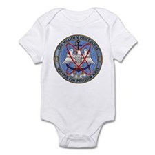 USS WILLIAM V. PRATT Infant Creeper