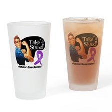 Alzheimers Disease Stand Drinking Glass