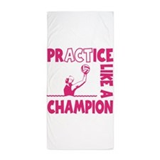 PRACTICE WATERPOLO Beach Towel