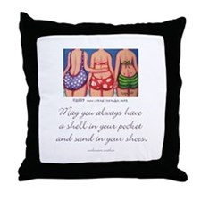A Shell in your Pocket Throw Pillow