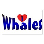 Whales Sticker (Rect.)