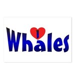 Whales Postcards (8)