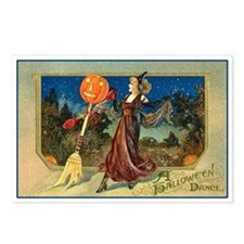 Halloween Dance Postcards (Package of 8)