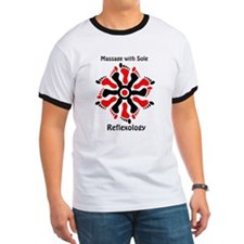 red/black reflex feet T