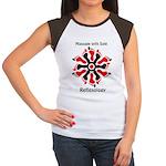 red/black reflex feet Women's Cap Sleeve T-Shirt
