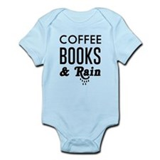 Coffee book and rain Body Suit