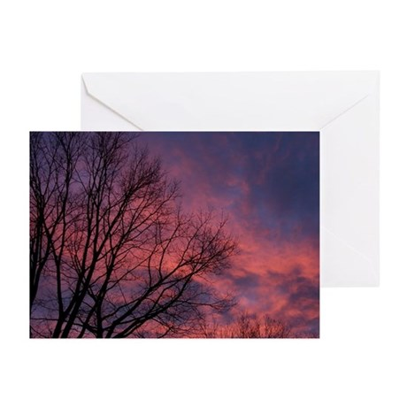 Skies on Fire Greeting Cards (Pk of 10)