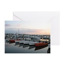 Belmar Marina Boats Greeting Cards (Pk of 10)