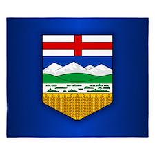 Alberta Flag King Duvet