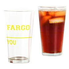 Cute Fargo Drinking Glass