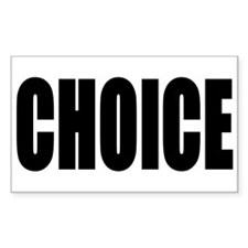 CHOICE Decal