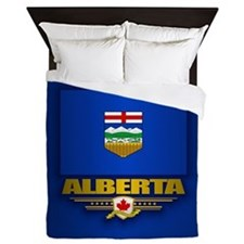 Alberta Flag Queen Duvet
