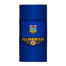 Alberta Flag Beach Towel
