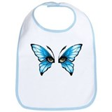 Butterfly eyes Bib