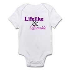 Lifelike & Lovable Infant Bodysuit