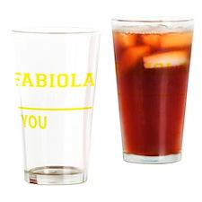 Cute Fabiola Drinking Glass