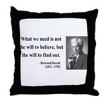 Bertrand Russell 4 Throw Pillow