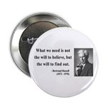 "Bertrand Russell 4 2.25"" Button"