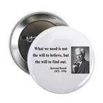 "Bertrand Russell 4 2.25"" Button (100 pack)"