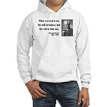 Bertrand Russell 4 Hooded Sweatshirt