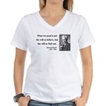 Bertrand Russell 4 Women's V-Neck T-Shirt