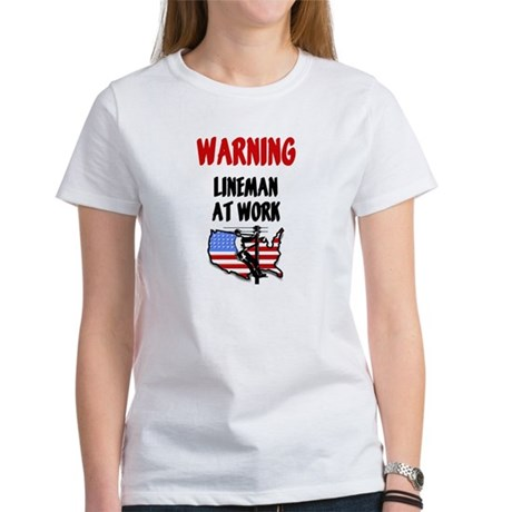 Lineman Women's T-Shirt