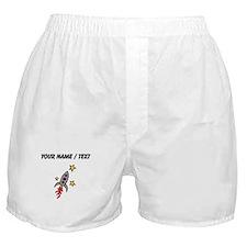 Space Ship (Custom) Boxer Shorts