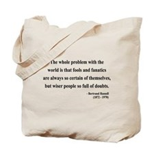 Bertrand Russell 2 Tote Bag