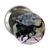 "Success Begins With Trying 2.25"" Button (10 pack)"
