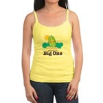 The Big One Surf Pink Jr. Spaghetti Tank