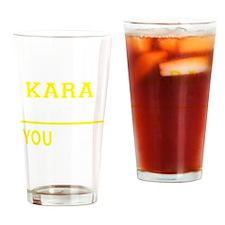 Funny Kara Drinking Glass