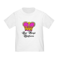 Her Royal Highness PINK Crown Baby/T