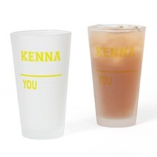 Funny Kenna Drinking Glass