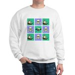 Treasure Map Blocks Sweatshirt