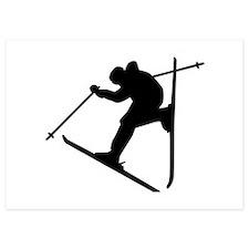 Freestyle ski Invitations