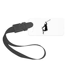Freestyle ski jump Luggage Tag