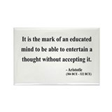 Aristotle 1 Rectangle Magnet