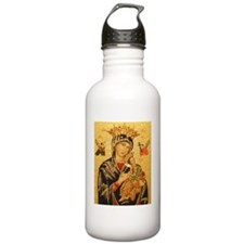 Our Lady of Perpetual  Water Bottle