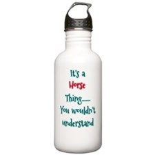 Horse Thing Water Bottle