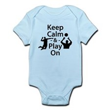 Keep Calm and Play On (Volleyball) Body Suit