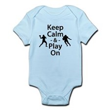 Keep Calm and Play On (Football) Body Suit
