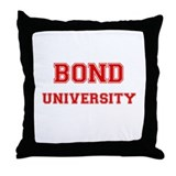 BOND UNIVERSITY Throw Pillow