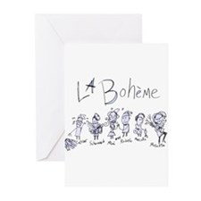 Cute Boheme Greeting Cards (Pk of 20)