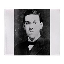 hp lovecraft Throw Blanket