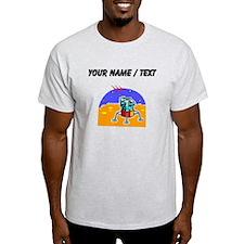 Cartoon Lunar Module (Custom) T-Shirt