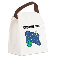 Earth Stars Moon (Custom) Canvas Lunch Bag