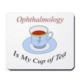 Ophthalmology is my cup of te Mousepad