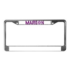 Cute Wi License Plate Frame