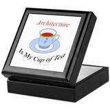 Architecture is my cup of tea Keepsake Box