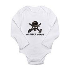 Cute Oilfield trash Long Sleeve Infant Bodysuit